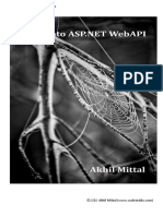 Diving Into ASP Net Webapi
