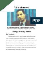 Ali Mohamed From Triple Cross