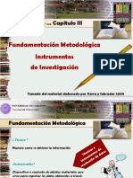 Cap, 3 Tec e Instrumentos, Conf y Validez Act 2013
