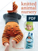 Knitted Animal Nursery - Fiona Goble
