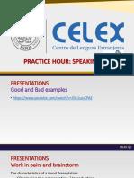 Speaking Practice Hour - l3