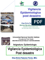 Vigilancia Epidemiologica Post Desastre