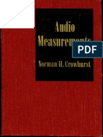 Audio Measurements - Norman H. Crowhurst (1958)