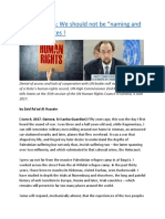 "Human Rights We should not be ""naming and shaming"" States.docx"