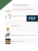 Temario Del Curso de Francés Para Primaria