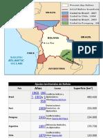 Perdidas Territoriales Bolivia