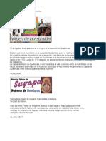 Fiestas Patronales de Centro America