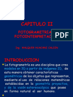 Capitulo II Fotogrametria