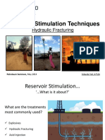 Reservoir Stimulation Techniques