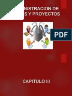TEORÍA DE ADMINISTRACIÓN DE PROYECTOS DE INVERSIÓN PUBLICA