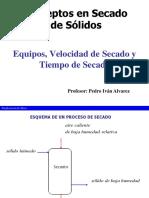 Secado de s Lidos I- Conceptos y Mecanismos-2017