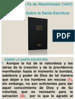 Cap 1. La Santa Escritura