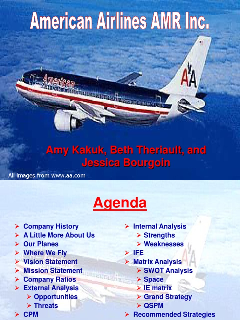 american airlines 2004 airlines revenue