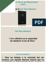 Cap 9. Del Libre Albedrio