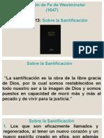Cap 15. Sobre La Santificación