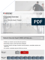 Fortinet - Module 6 (Corporate Overview)