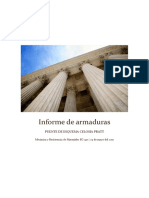 Informe de Armaduras