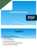 Calidad de Agua Unidad 1,2,3 (1)