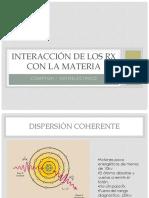 Interaccion de Los Rx Con La Materia - Radiacion Dispersa DZ (1)