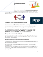 La Communication Interpersonnelle Tl Bref2