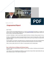 Congressman Henry Cuellar - Congressional Report.pdf