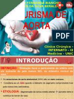 Slides - Aneurisma de Aorta Abdominal