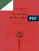 Schmitt Carl - La Tirania De Los Valores.pdf