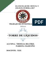 PROYECTO DE CIENCIAS PARA INICIAL