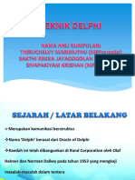 Teknik Delphi