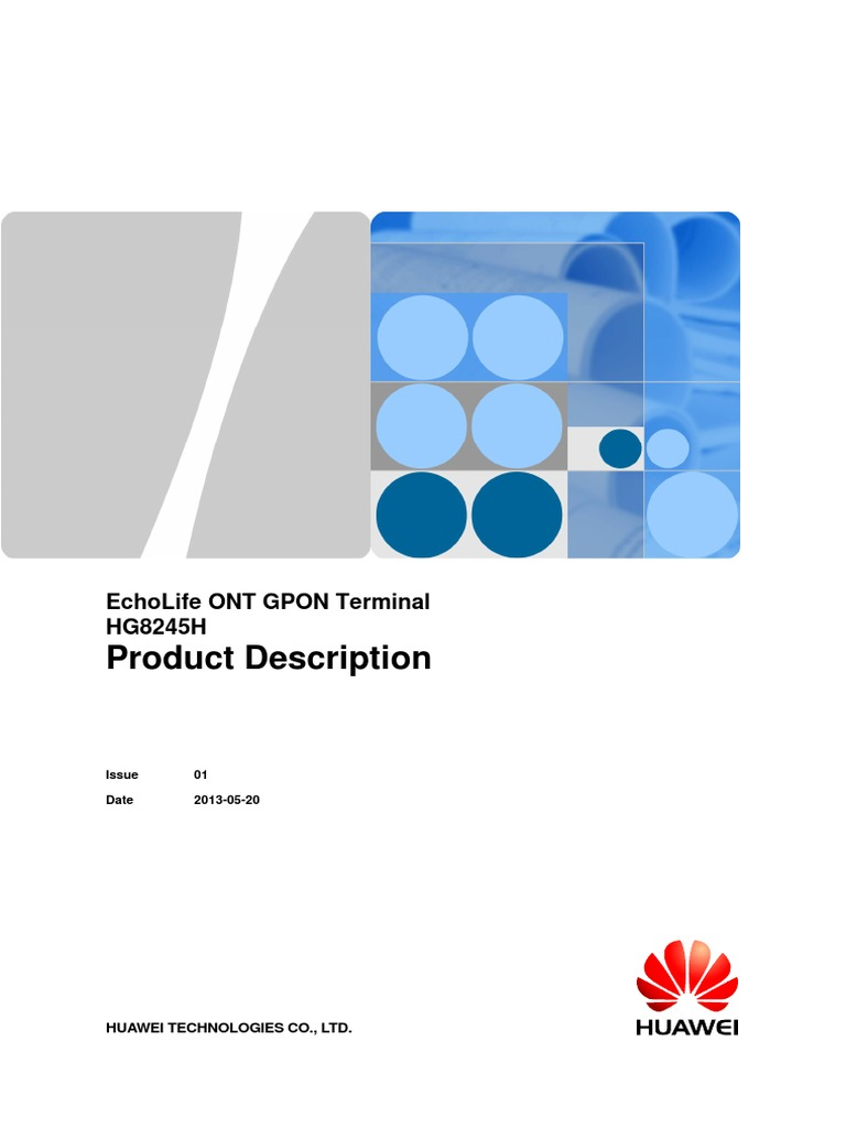 Hg8245h gpon ont user manual hg8245h product description huawei.