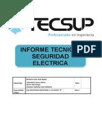 Informe Tecnico Seguridad Electrica