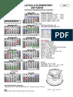 DKIES Calendar 2017-2018