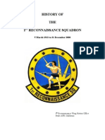 History of the 1st Reconnaissance Squadron - 9RW History Office