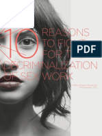 10reasons for Decriminalize Sex Work