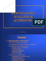 EDUCACION 5 Identificacion de Alternativas