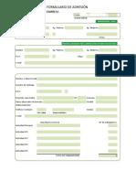 Formulario de Adhesion Empresas ACHS