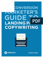 The Conversion Marketers Guide to LandingPage Copywriting