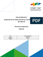 Guía de Aplicación Integracion de Las Señales SITR de Los Coordinados Al SCADA
