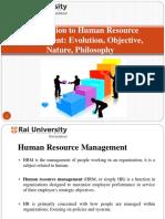 Introductiontohumanresourcemanagementevolutionobjectivenaturephilosophy Humanresourcemanagement 141114220558 Conversion Gate01