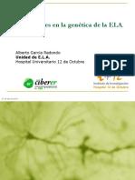 Caracteristicas Geneticas de La ELA