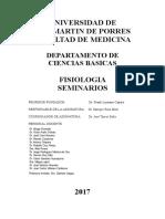 Fisiología Humana - Guía de Seminario 2017