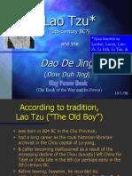 lao tzu china philosophy
