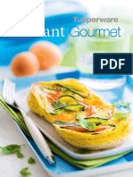 Receitas Instant Gourmet Tupperware