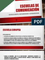Escuelas de Comunicación