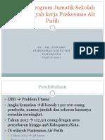 Aktivasi Program Jumatik Sekolah Dasar Wilayah Kerja Puskesmas-mini Project