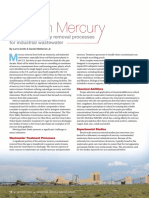 Optimizing Mercury Removal Processes for Industrial Wastewater