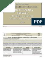 Plan de Estudios de Sociales -De Primero a Noveno-2013