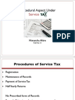Indirect Taxes- Proecedural Aspects