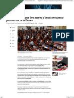 Fernando Rueda Franco Pide Que Le Devuelvan Millonaria Pensión Como Congresista - Congreso - Política - ELTIEMPO