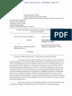 Daniel Webb's Affidavit